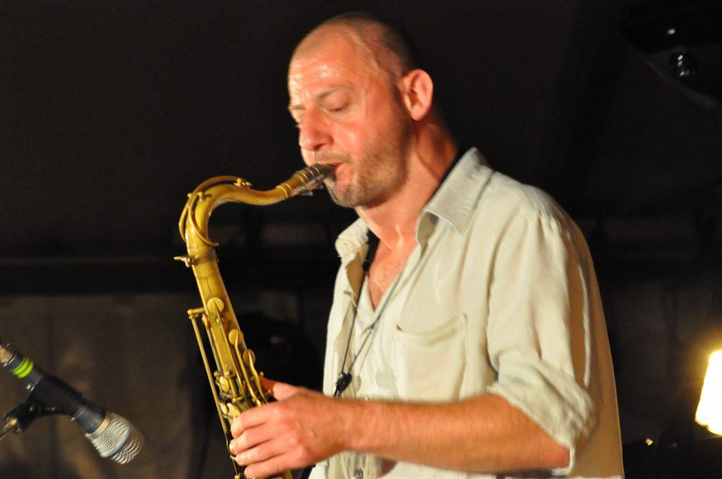 le saxophoniste Boris Blanchet
